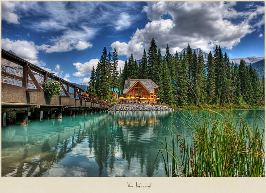 The True Colors Of Emerald Lake Yoho National Park