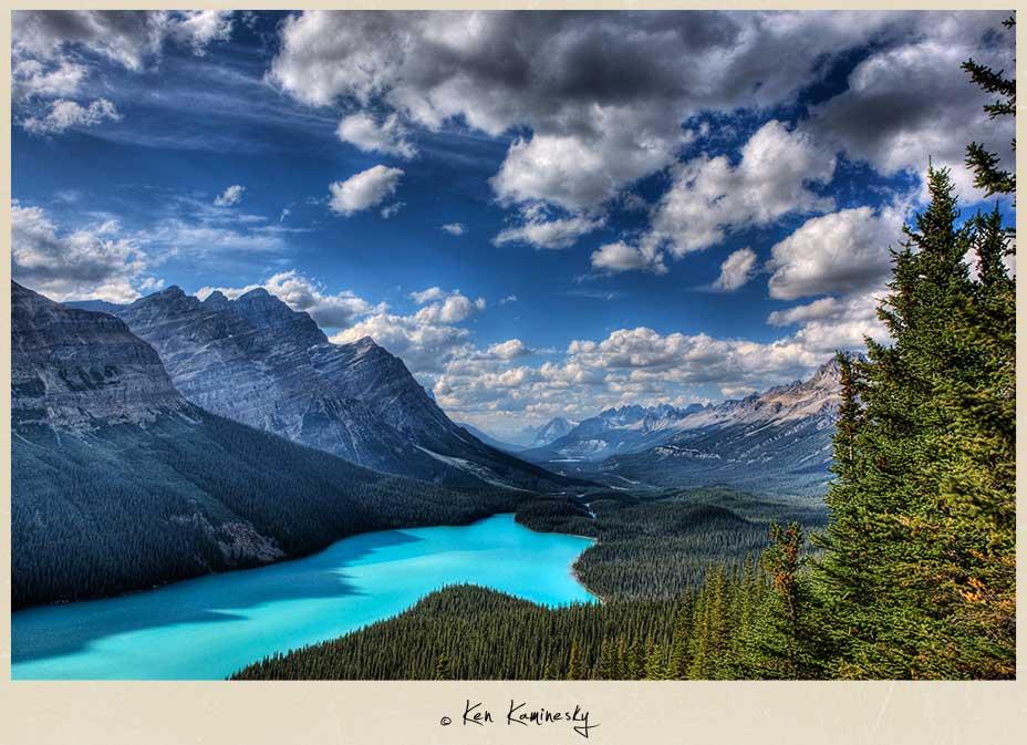 Banff-Peyto-Lake