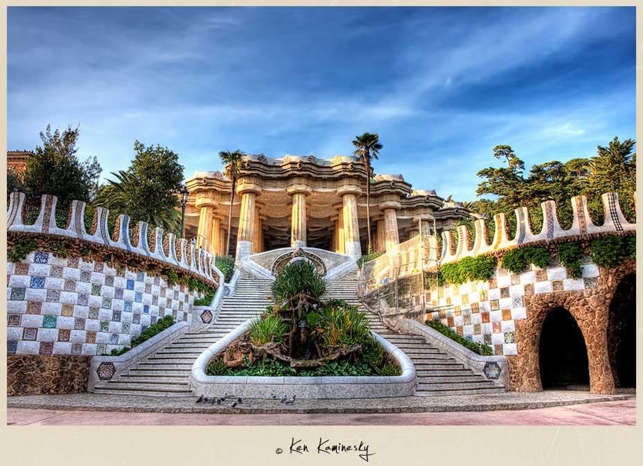 Antoni Gaudí's Parc Güell in Barcelona