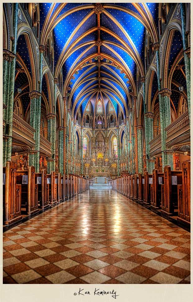 Gothic Church Notre Dame Has a Notre Dame Church