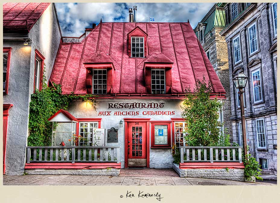 Restaurant Aux Anciens Canadiens Quebec City