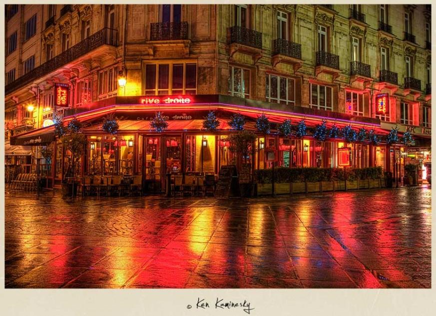 Cafe Rive Droite in Paris, France
