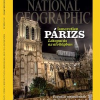 Notre Dame de Paris - National Geographic cover - photo by Ken Kaminesky