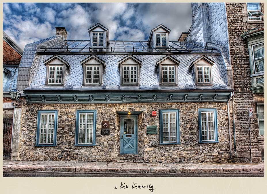 Maison Cureux in Quebec City