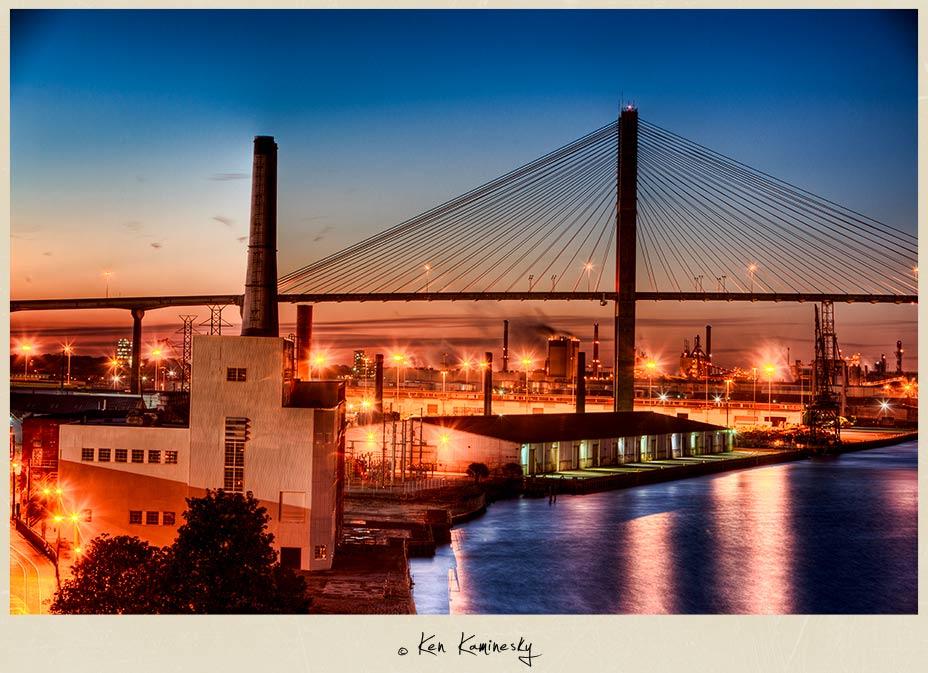 Talmadge Memorial Bridge in Savannah