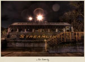 The Streamliner Diner in Savannah Georgia