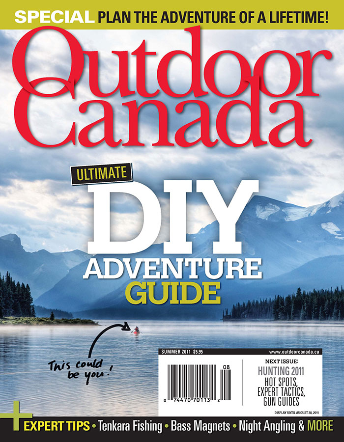 Outdoor Canada: Ultimate DIY Adventure Guide – My Photo on the Cover!