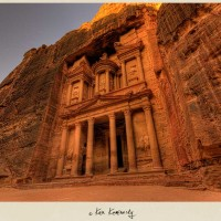 The Treasury or al-Khazneh at Petra in Jordan