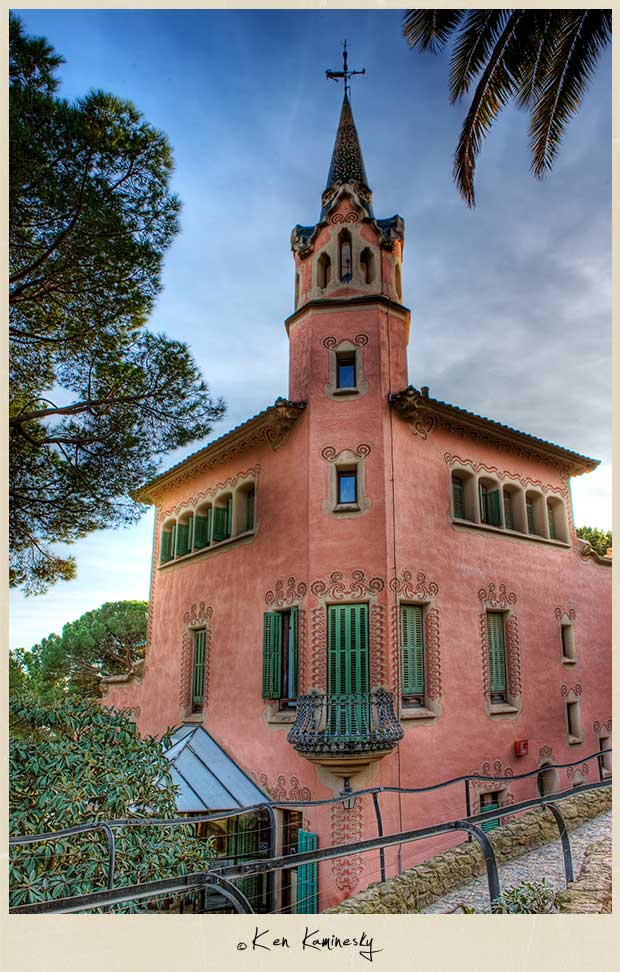 The Gaudi Museum at Parc Guell