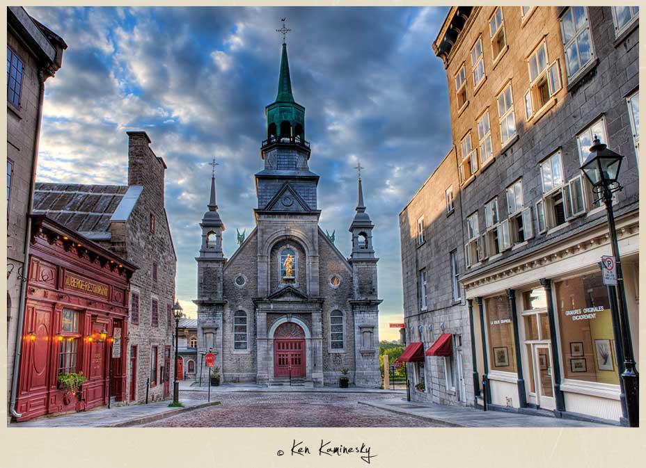 Notre-Dame-de-Bon-Secours-Chapel in Old Montreal
