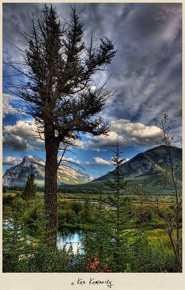 Vermillion Lakes in Banff National Park