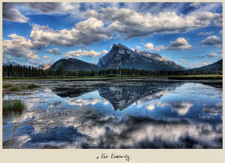 Vermillion-Lakes-Mount-Rundle-and-Sulphur-Mountain