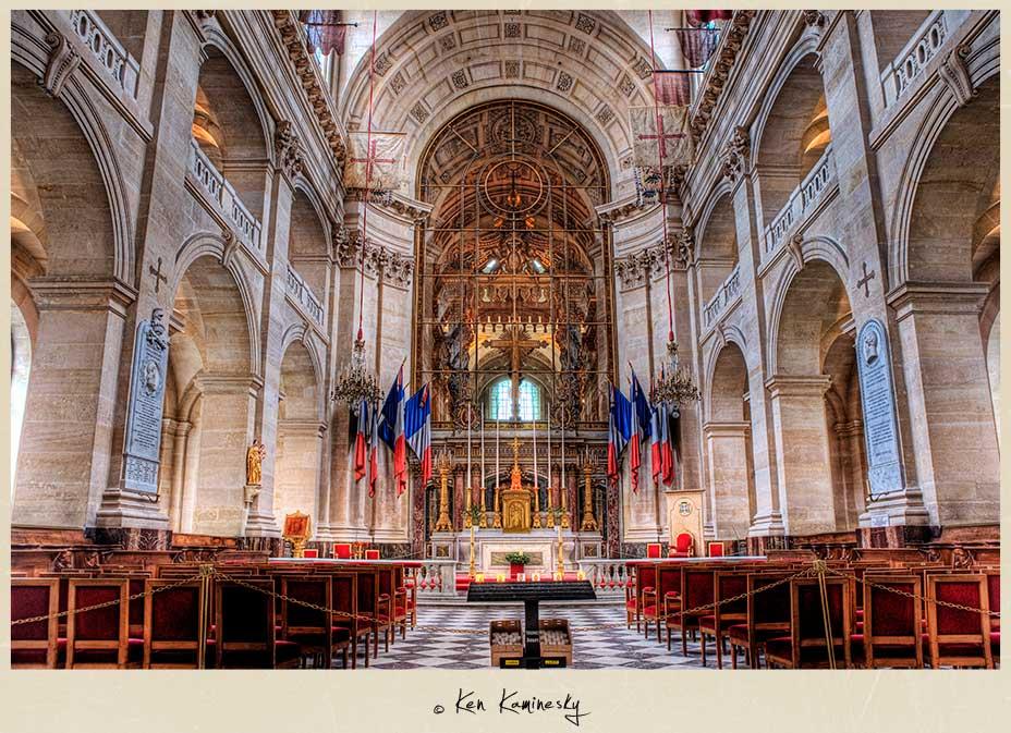 Saint-Louis-des-Invalides Chapel in Paris