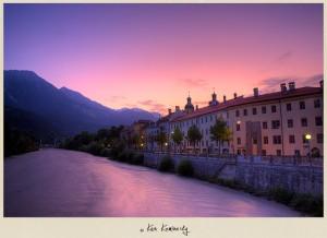 Sunrise in Innsbruck