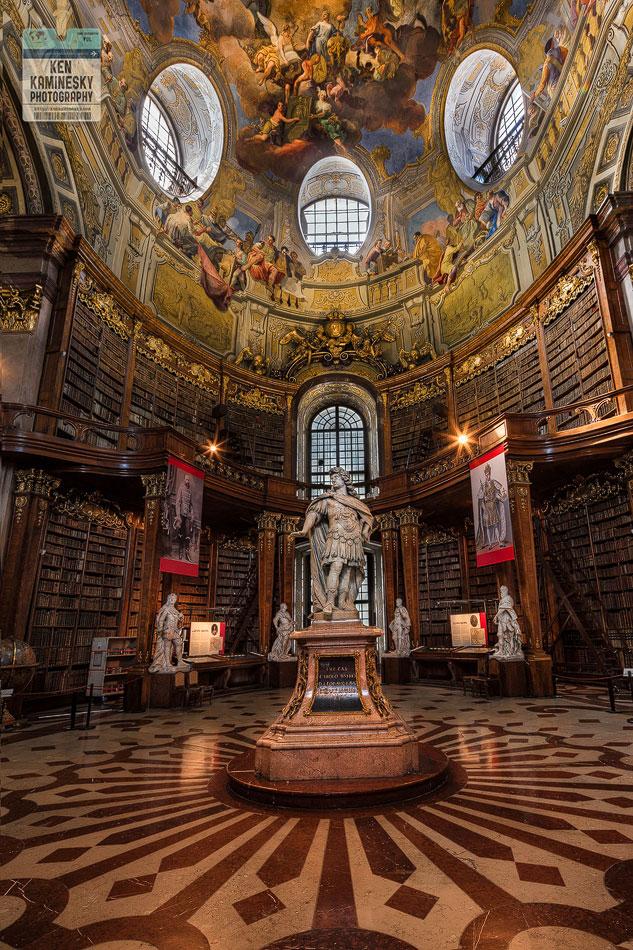 Statue of Emperor Charles VI. - Prunksaal