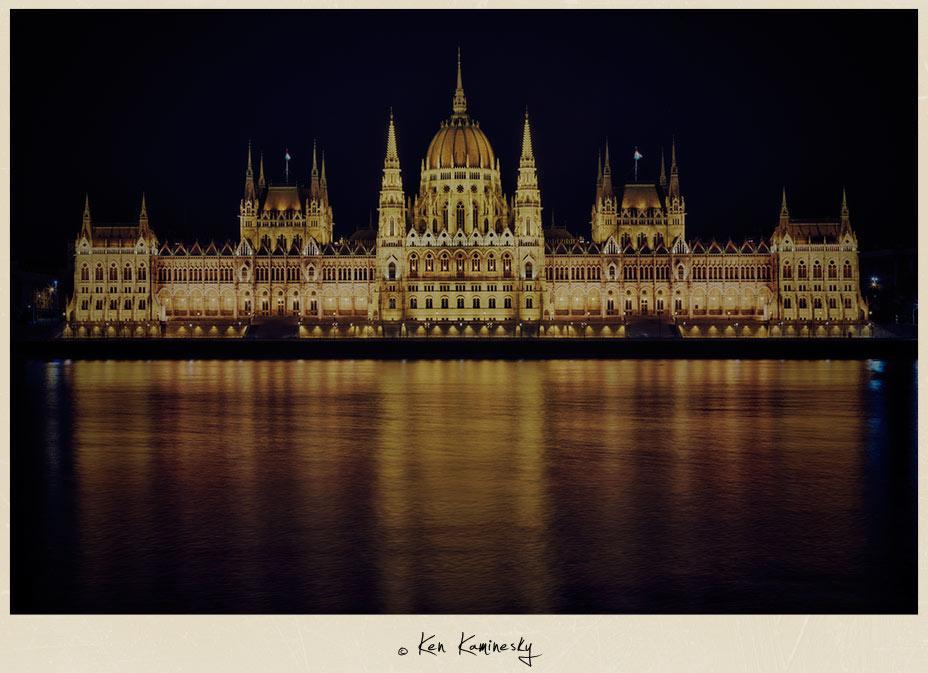 Hungarian Parliament  in Lajos Kossuth Square
