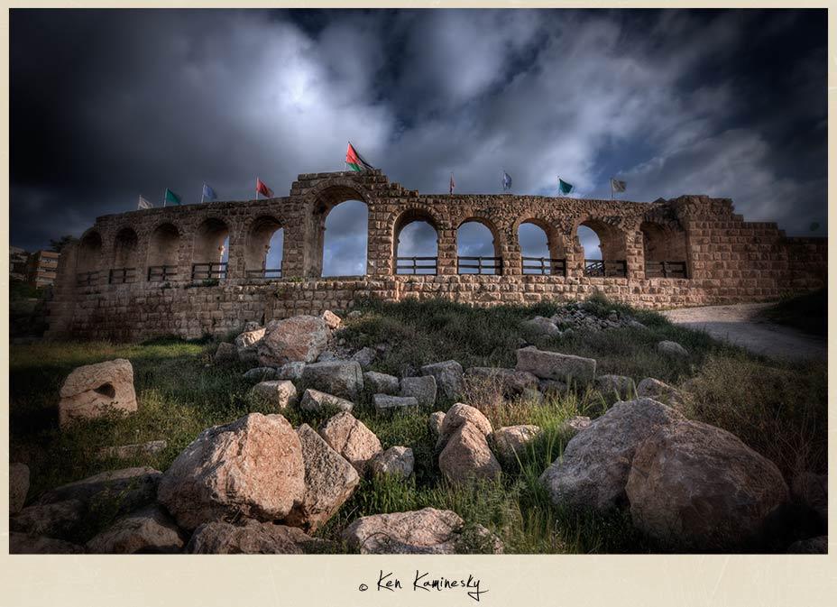 The Hippodrome in Jerash