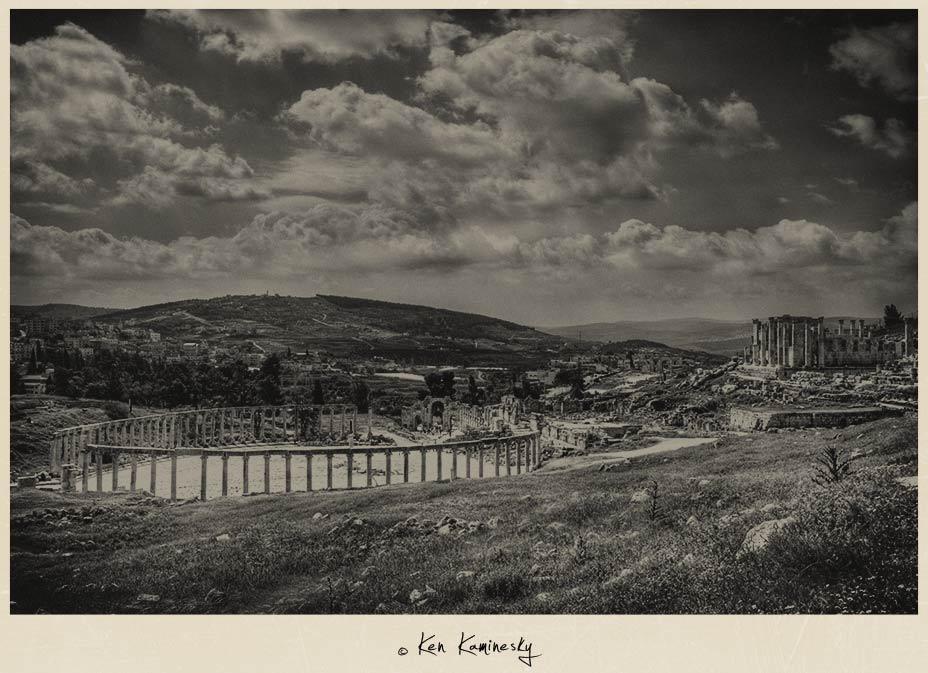 Oval Forum in Jerash