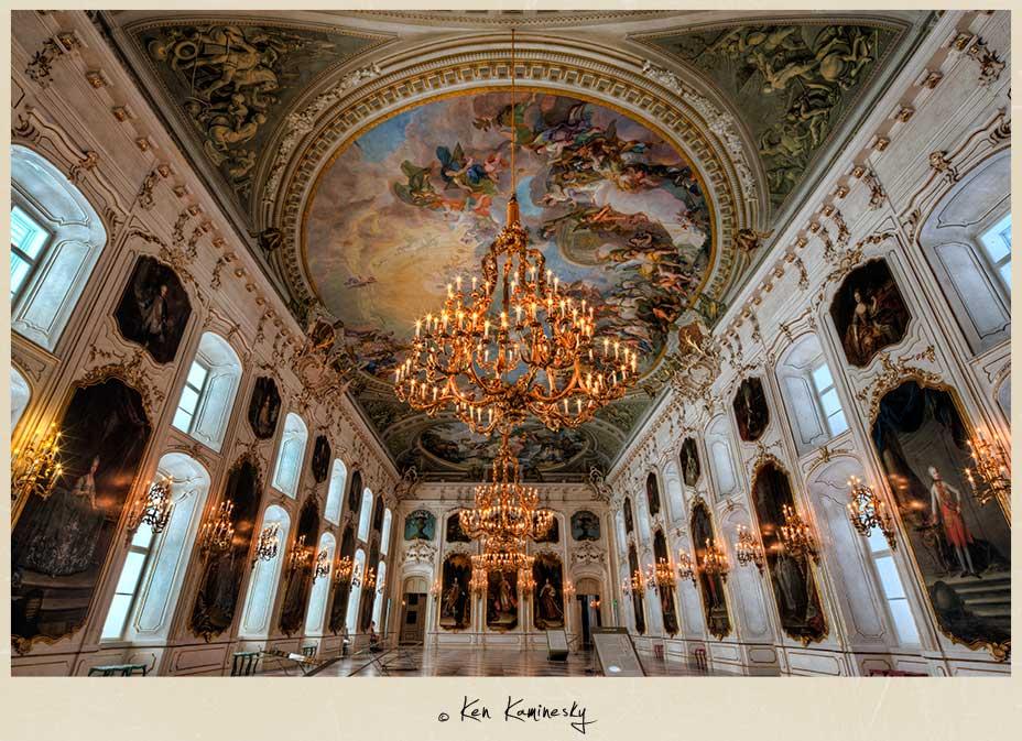 Hofburg-Imperial-Palace in Innsbruck