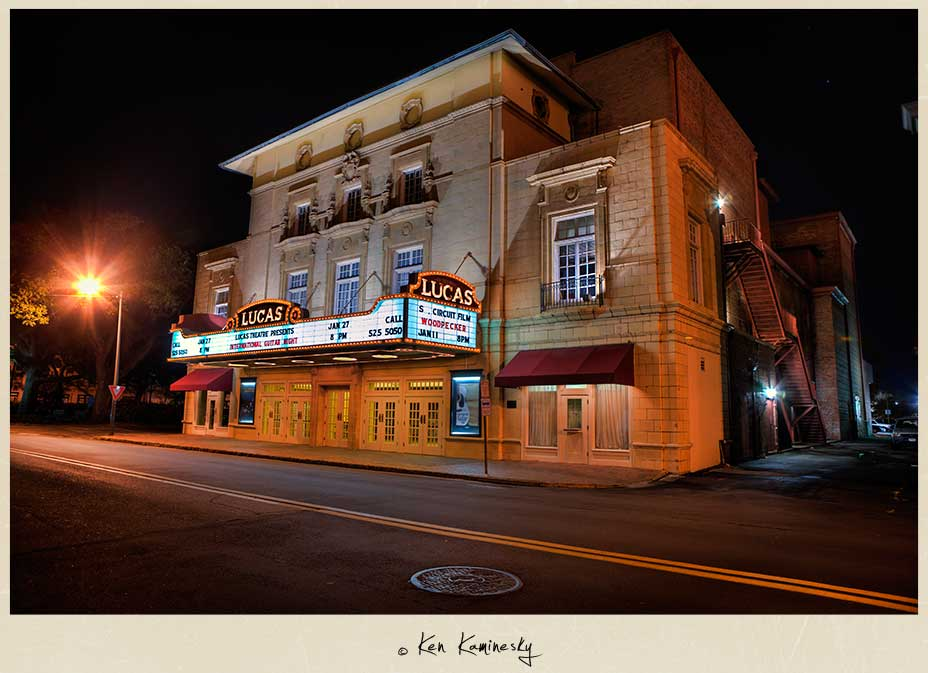 The Lucas Theater in Savannah
