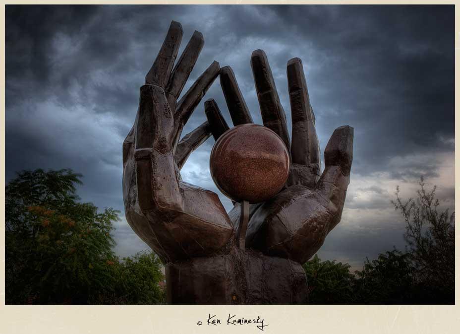 Memento Park Statue