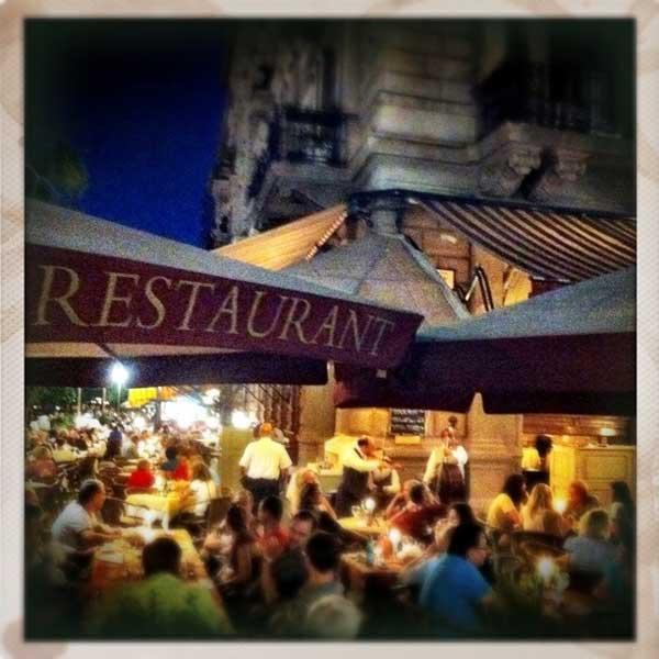 Restaurant on the Danube