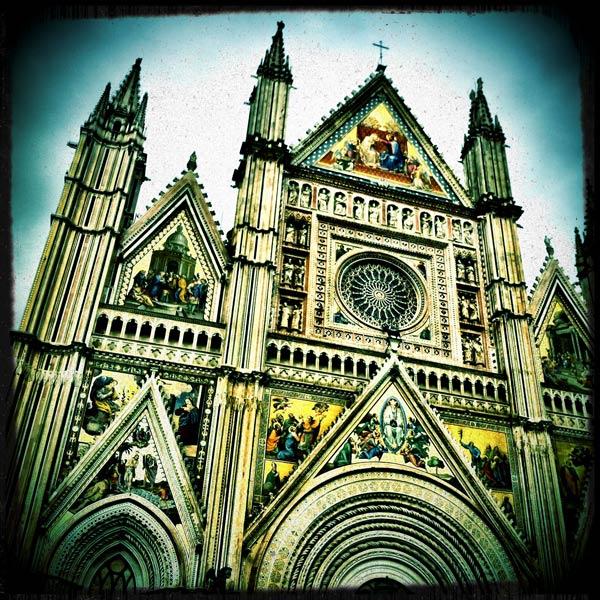 The Duomo in Orvieto