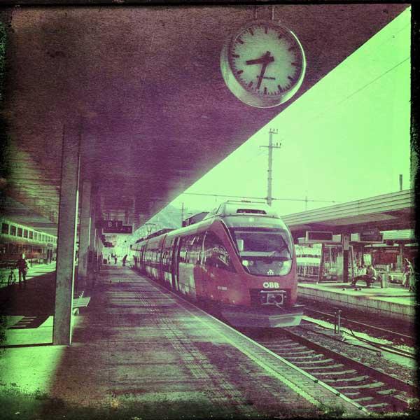The Innsbruck Train Station