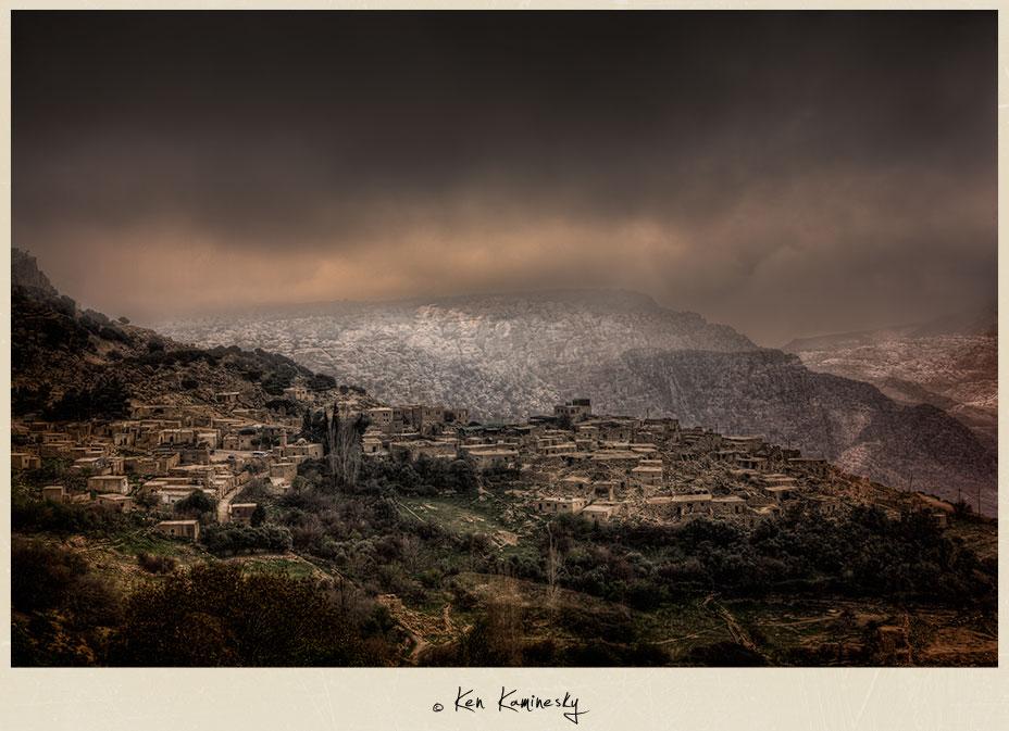 Dana Village in Jordan