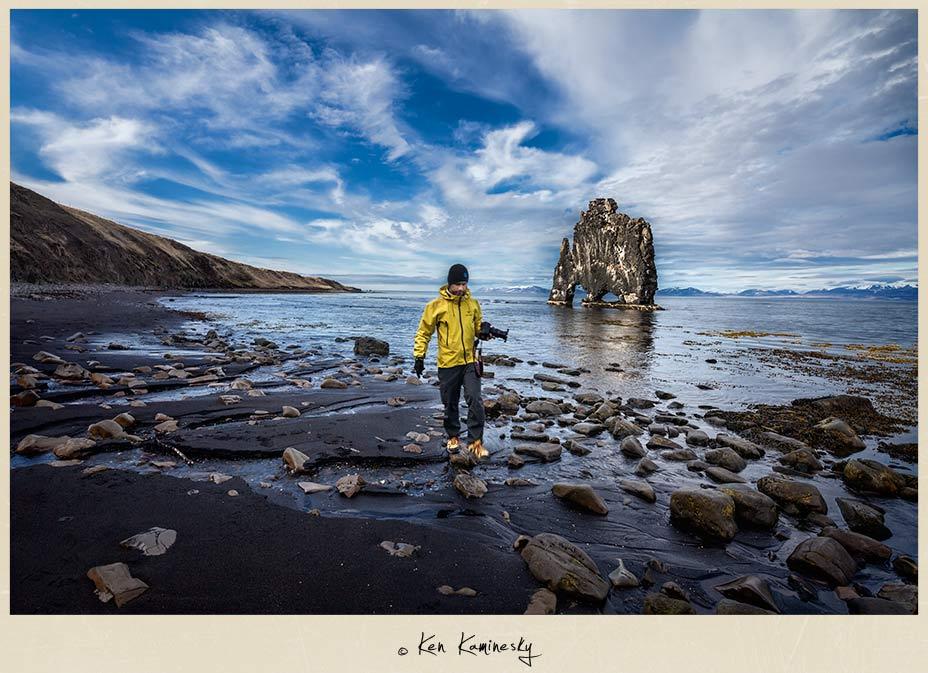 Me at Hvitsegur in my favourite Arc'teryx jacket