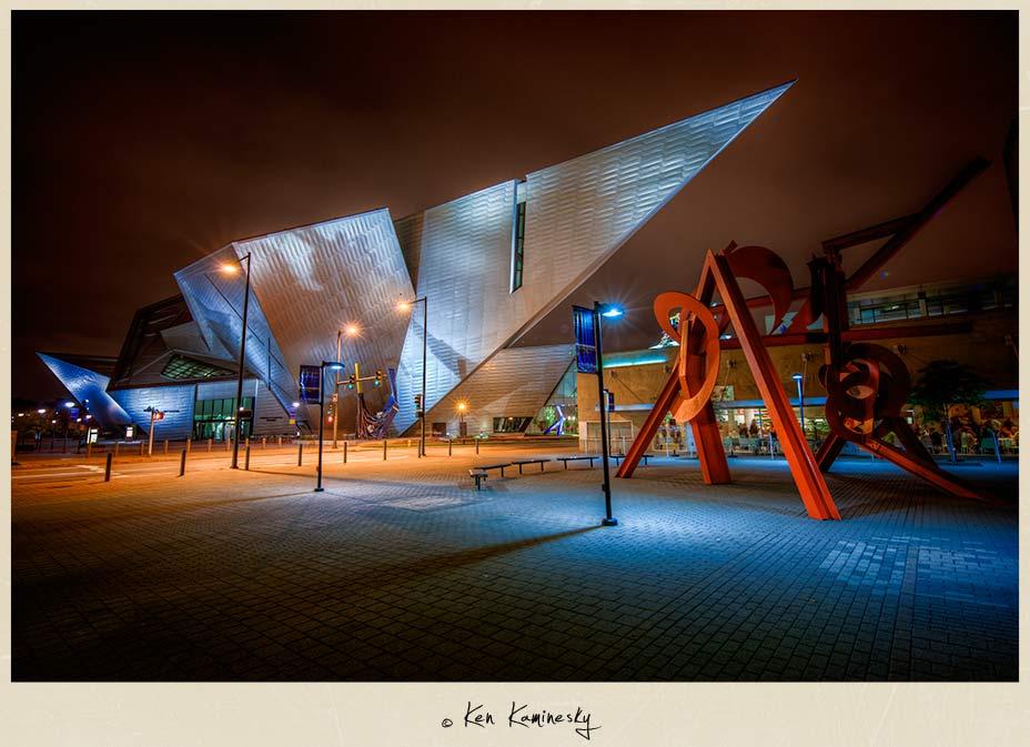 The Denver Art Museum building