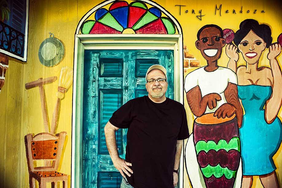 Tony Mendoza artist
