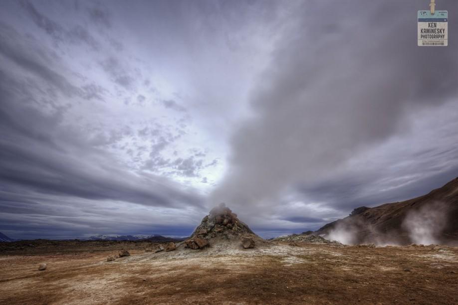 Sulphur vent in Iceland