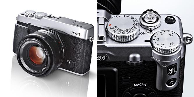 Fuji-X-E1 camera