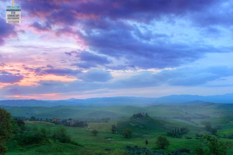 A Stunning Sunrise in Tuscany — Good Morning Sunshine!