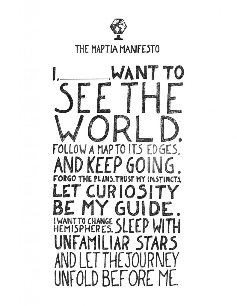 The Maptia Manifesto