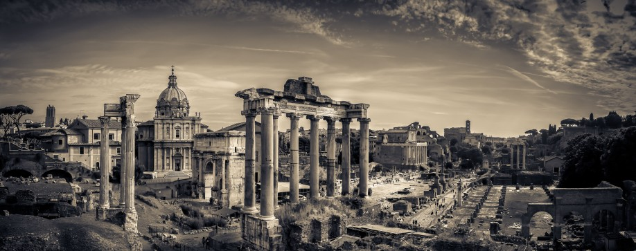 The Roman Forum ©Guy Raymond