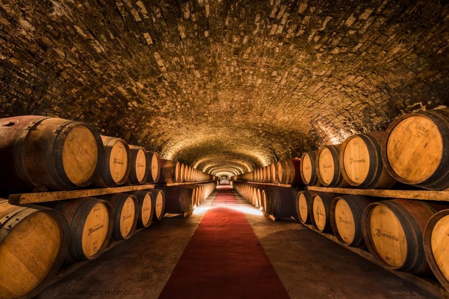 Wine Cellar in Tuscany © Chris Mavricos