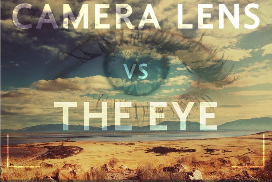 Camera lens versus the eye - cropped