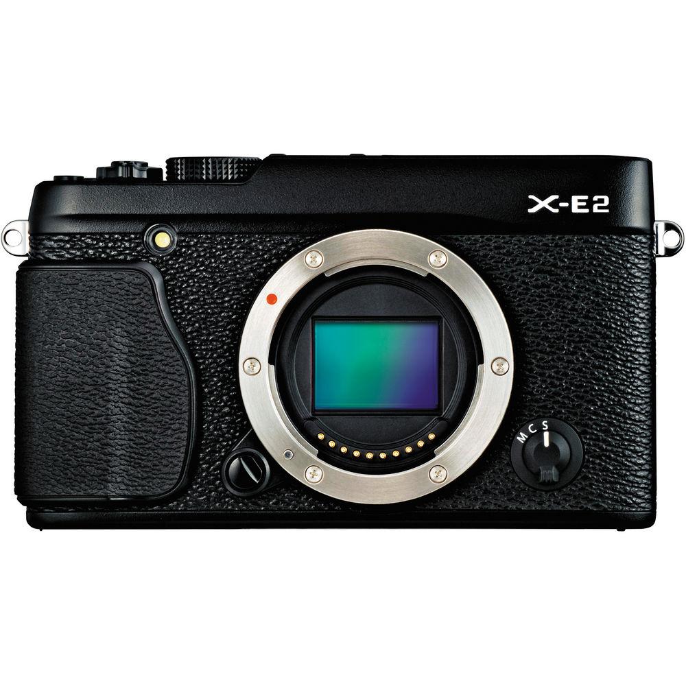 FFujifilm X-E2 Mirrorless Digital Camera