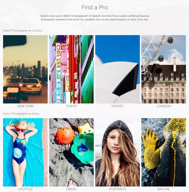 Image Brief-Find a pro