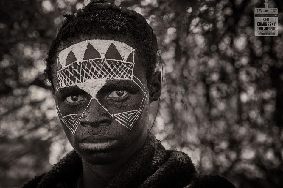 Young Masai during Emorata